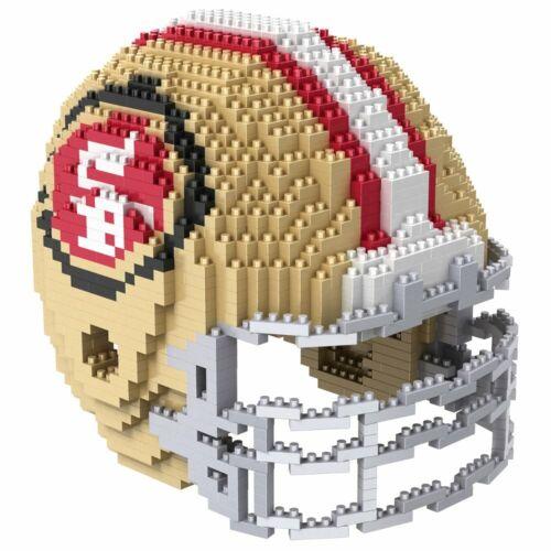 NFL San Francisco 49ers 3d Puzzle CASCO foco brxlz FOOTBALL HELMET CASCO football