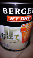 Berger Jet Dry, Gloss, Amber, 10l, Garage,driveways,paving Paint : Rrp $199