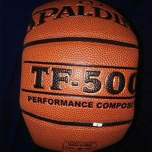 New Spalding TF-500 Performance Composition Men's Basketball - Size 29.5""