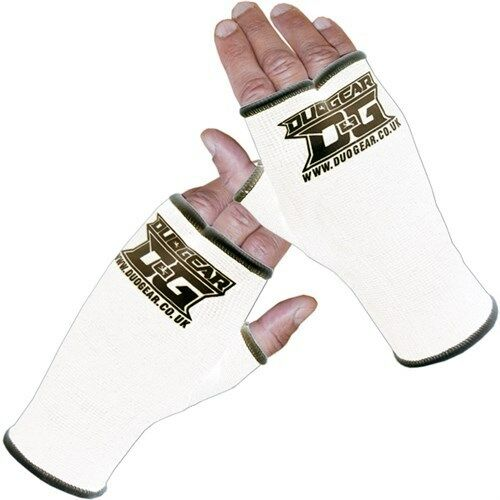 WHITE inner glove Polso Supporti Per Kickboxing Allenamento