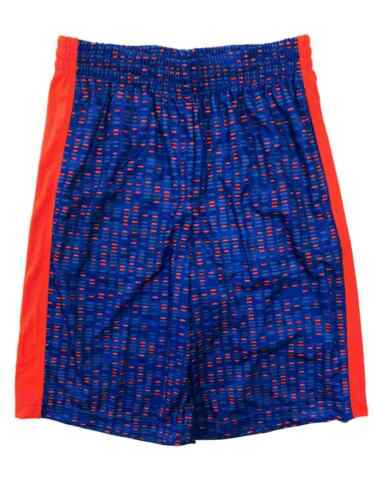 Xersion Boys Blue /& Orange Speckle Athletic Basketball Gym Shorts