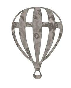 Plasma Cut Metal Shape BLN1-M Hot Air Balloon