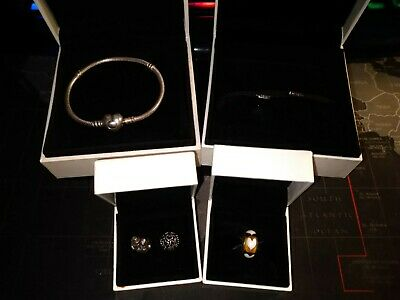 Pandora Jewellery Job Lot All Genuine And Boxed All Hallmarked Ebay