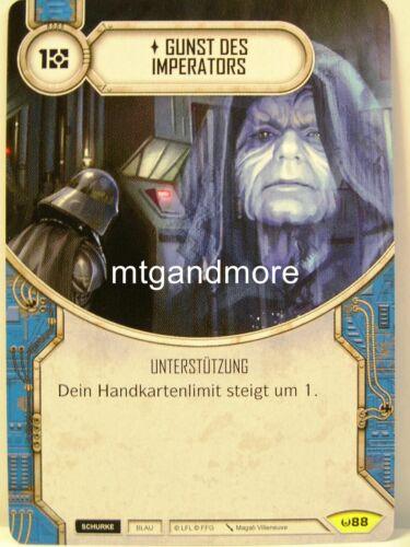 1x #088 faveurs de l/'empereur-Awakenings Star wars Destiny