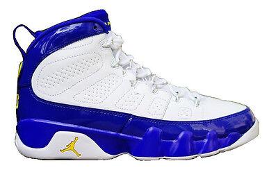 Nike Air Jordan 9 Retro BG SZ 7Y Kobe Bryant LA Lakers PE Purple 302359-121