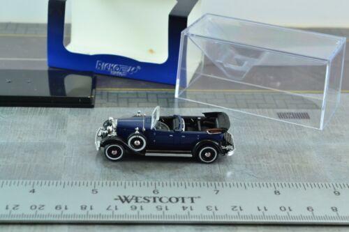 Ricko Old Timer Lincoln K Blue Car 1:87 Scale HO