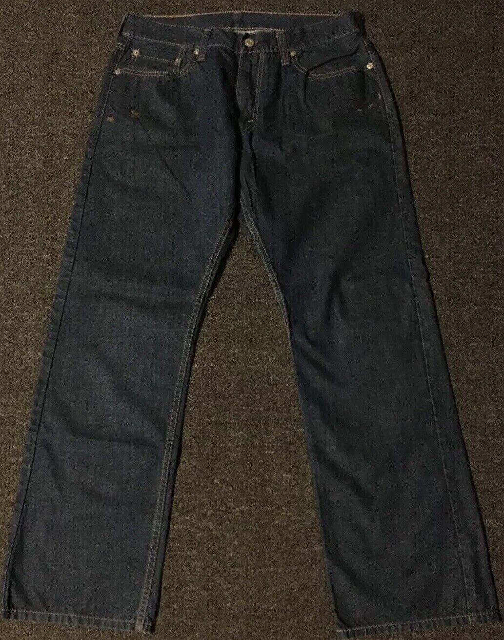Levi's 514 Jeans 32/31 Distressed Straight Vtg 90… - image 4