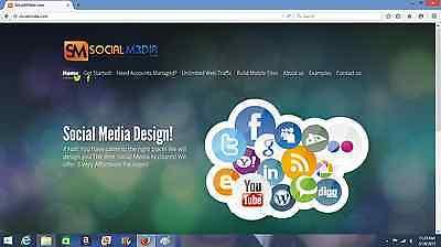 Premium Turnkey Social Media Reseller Domain marketing Bonuses s0cialm3dia.com
