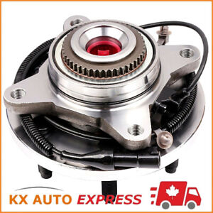 FRONT-WHEEL-BEARING-amp-HUB-ASSEMBLY-FOR-FORD-F150-2009-2010-4X4-4WD-6-STUDS