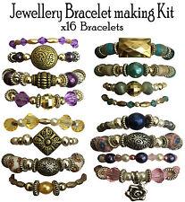 X16 Bracciale Perline Gioielli Kit Set Regalo