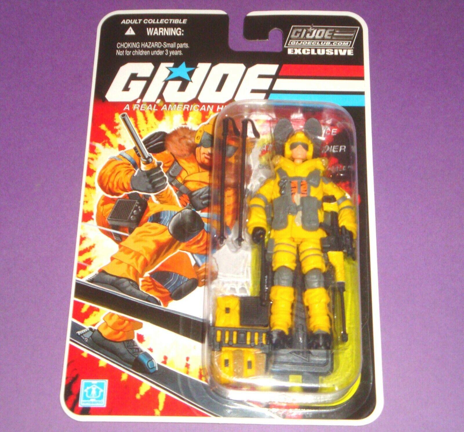 GIJOE Blizzard FSS Final 12 Figure - Carded MOC Tiger Force