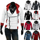 Hot Stylish Creed Hoodie men's Cosplay For Assassins Cool Slim Jacket Costume