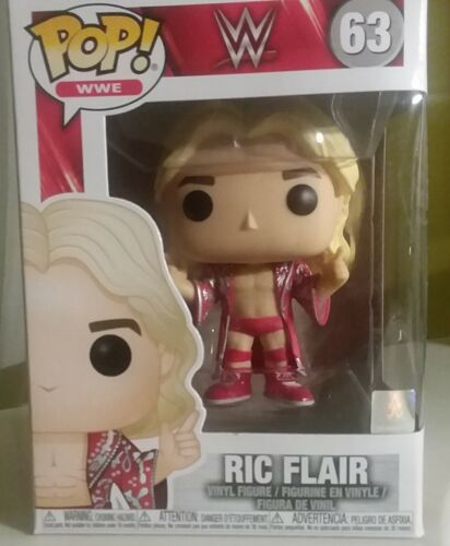 Serie 63 WCW Nature Boy Elite Funko Pop Vinyl WWE Wrestling Figur RIC FLAIR