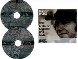 BOBBY BARE SINGS LULLABYS LEGENDS AND LIES ~ **2 X CD LEGACY EDITION BOX SET**