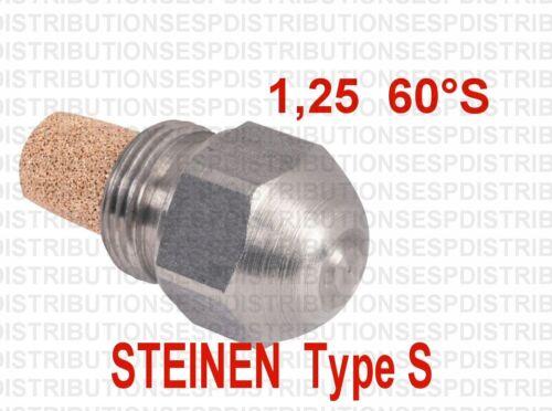 gicleur STEINEN 1,25 60° S fioul oil burner nozzle S-13631 LBF