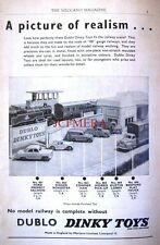 1958 Dinky Toys ADVERT Ford Prefect, Singer Roadster etc. - Vintage Print AD