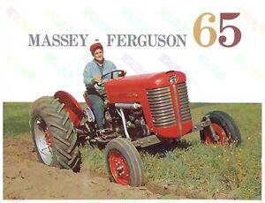 - Poster a3 3 For 2 Offer Massey Ferguson 135 Tractor Advertising