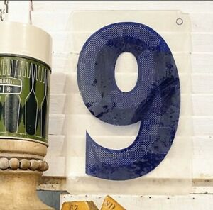 Vintage-Acrylic-Marquee-Letter-9-Sign-Number-Plastic-Display-Retro-Industrial-6
