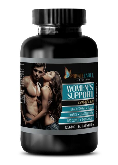 anti aging - WOMEN'S SUPPORT COMPLEX - red clover capsules - 1 Bottle 60 Capsule