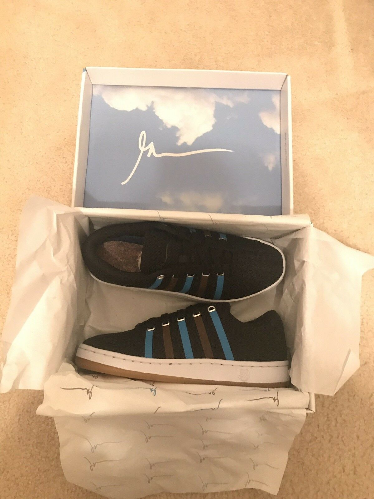 Gary Vee 003 DARK Clouds and Dirt Size 8 - K-Swiss Men's (Limited Edition)