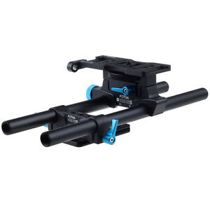 FOTGA-DP500IIS-DSLR-15mm-Rod-Rail-Support-Cheese-Baseplate-For-Follow-Focus-Rig