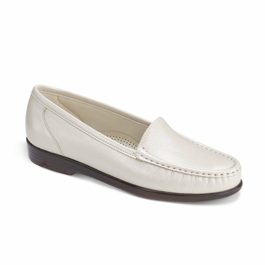 negozio outlet SAS SAN SAN SAN ANTONIO SHOEMAKERS COMFORT scarpe SIMPLIFY PEARL BONE  Dimensione 7.5 S  spedizione veloce a te