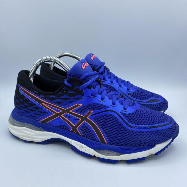 ASICS Womens Gel-Cumulus 19 Blue Running Shoes Size 8.5 WIDE EUC