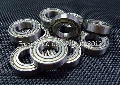 (50 Pz) 6800zz (10x19x5mm) Metallo Schermato Cuscinetto A Sfera Cuscinetti 6800z Rinfrescante E Benefico Per Gli Occhi