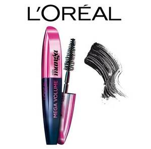 a6f1ed52d00 L'OREAL MEGA VOLUME MISS MANGA BLACK MASCARA **BRAND NEW & SEALED ...