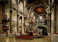 Kirchen Bauwerke Kirche Basilika Vierzehnheiligen Bayern Innenansicht color AK