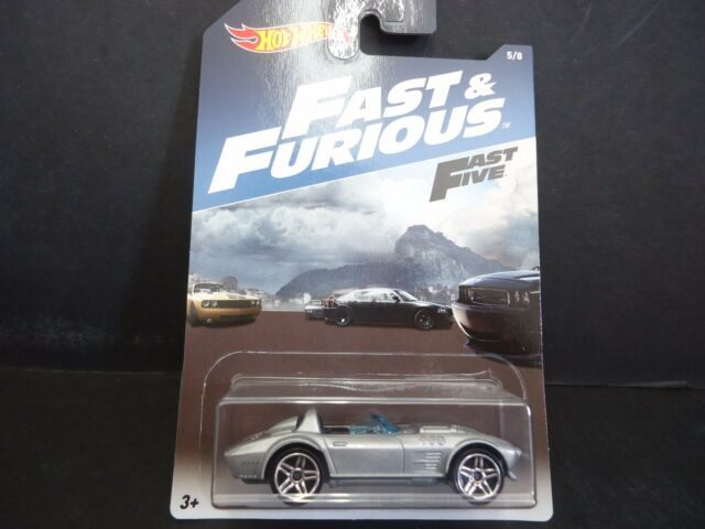 Hot Wheels Dom's Corvette Fast and Furious DWF68-999A 1/64