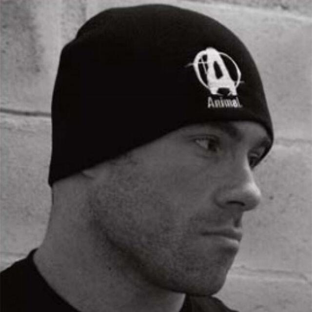 Universal Nutrition Animal Skull Cap, Beanie, schwarze Mütze