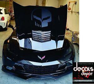 Chevy-Corvette-Hood-Decal-Vinyl-Sticker-Jake-Logo-C5-C6-C7-ZO6-ZR1-Stingray