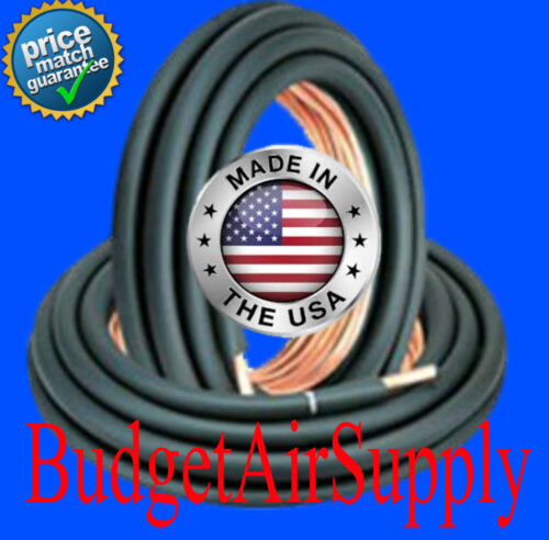 1-1/8 x 3/8 (1/2 INSULATED) Copper Line set x 25ft -LINESET MADE IN THE USA