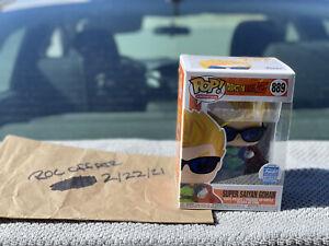 Funko Pop! DBZ! Super Saiyan Gohan with Sunglasses #889 Funko Shop Exclusive NIB