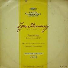"""Stravinsky(10"""" Vinyl Gatefold)Petrouchka-Deutsche Grammophon-DG 17003-UK-VG-/Ex"""