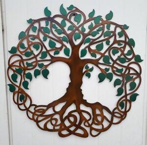 Image Is Loading Tree Of Life Celtic Design Metal Art 23