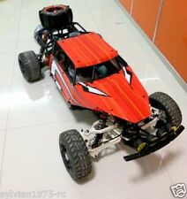 KM Roll Cage with Body shell for 1:5 BAJA 5B 5T 5SC RED HPI ROVAN KM NIB