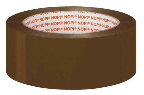NOPI® Packband Universal 38,0 mm braun 57951 Polypropylen Leise Noise abrollbar
