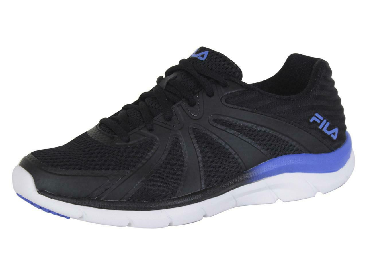 Fila Memory-Fraction-3 Black EBLE Memory Foam Running Sneakers shoes