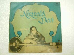 NIRMALA DEVI GHAZALS URDU RARE LP INDIA ex