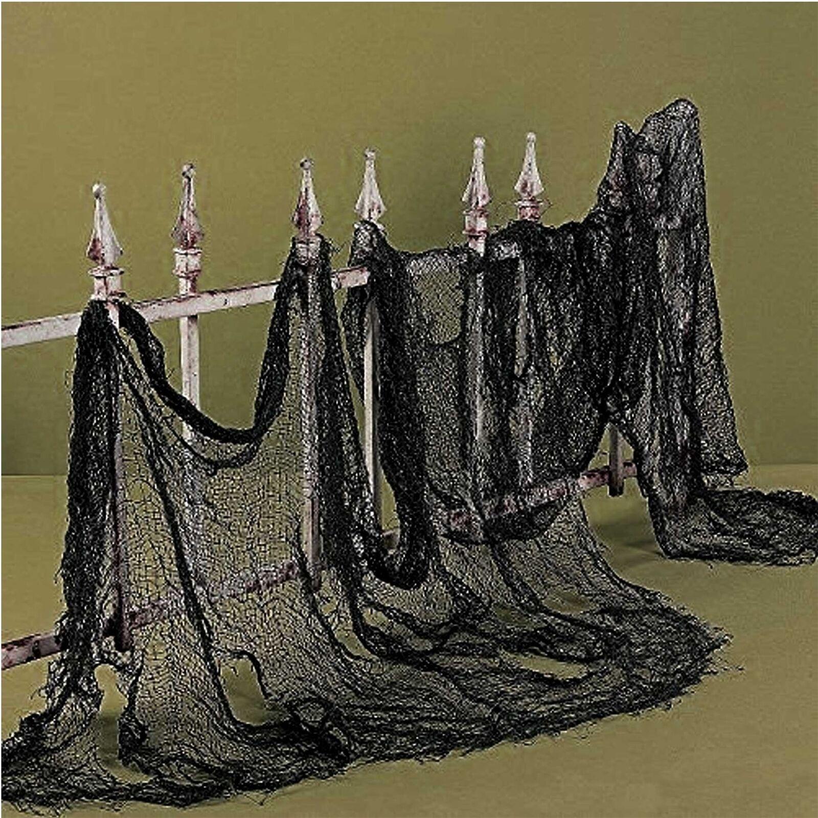 100 X Panno Spaventosa Halloween Finestra Porta Tavolo Decor Party Decorazioni BULK