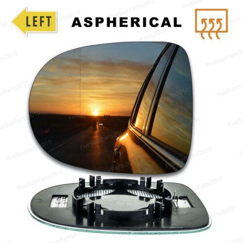 Ala izquierda del lado del pasajero Gran Angular Cristal Espejo Para Renault Clio 09-12 climatizada
