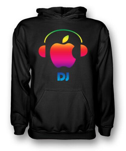 Apple Kids Hoodie DJ Headphones