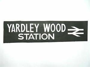 Yardley-Wood-Station-bus-blind-vintage-screen-printed-Yardley-Wood-destination