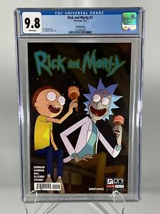 Rick-and-Morty-1-CGC-9-8-NM-MT-Oni-Press-07-2015-Rare-Third-Printing-Variant