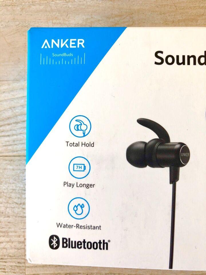 Bluetooth headset, t. andet mærke, Anker Soundbuds Slim
