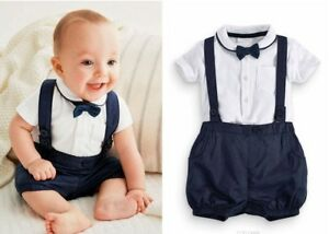 f5c6b3ce4a0 Image is loading Baby-Boy-Wedding-Christening-Formal-Smart-Summer-Outfit-