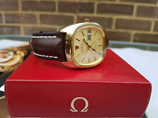 Omega Geneve Megaquartz 32Khz, box and all papers!! Exceptional piece!!