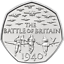 Nearly-Uncirculated-2015-50p-pence-BATTLE-OF-BRITAIN-with-denomination-RARE-coin thumbnail 1